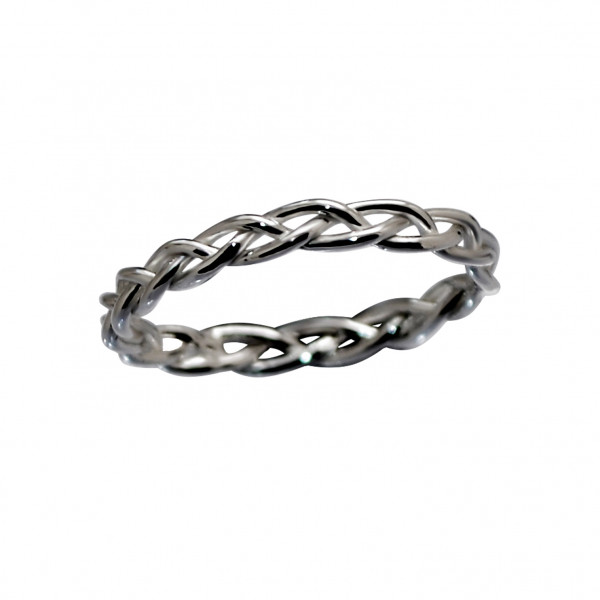 Braided Ring Black