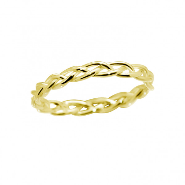 Braided Ring Gold