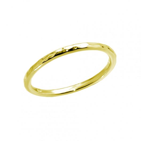 Rock Ring Gold
