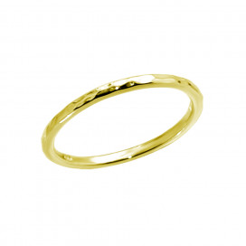 Rock Ring Gold