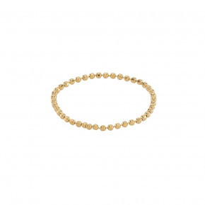 Ball Chain Ring Gold