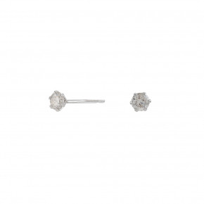 Diamond Ear Studs, 0.100 ct, Whitegold