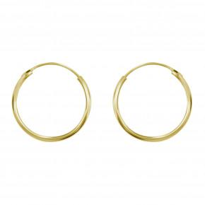 Medium Ear Hoop Gold