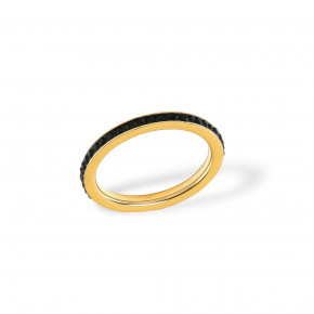 Plain Zirkonia Ring Golden
