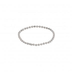 Ball Chain Ring Silver