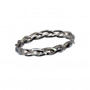 Braided Ring Black