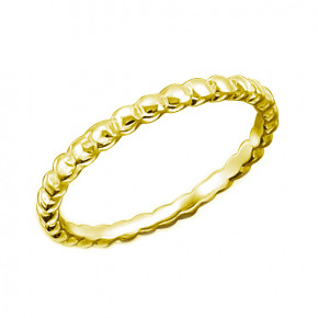 Bubbles Ring Gold