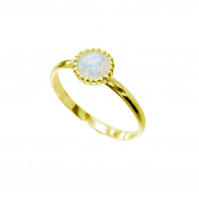 Opal Ring Gold