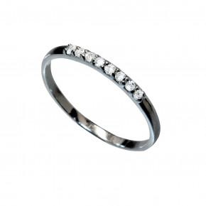 Plain Zirkonia Ring Black