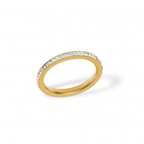 Plain Zirkonia Ring Golden