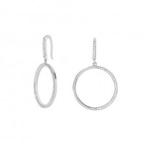 Zirkonia Earring Silver